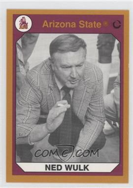1990 Collegiate Collection Arizona State Sun Devils Gold Back #128 - [Missing]