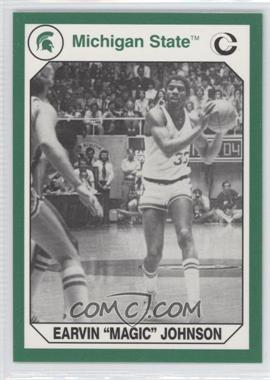 1990 Collegiate Collection Michigan State Spartans - [Base] #189 - Magic Johnson