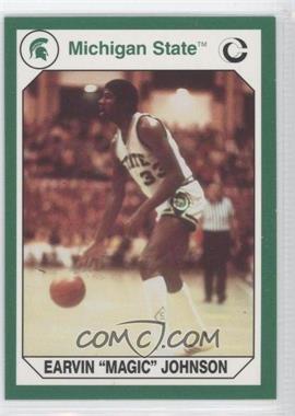 1990 Collegiate Collection Michigan State Spartans - [Base] #194 - Magic Johnson