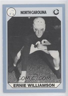 1990 Collegiate Collection North Carolina Tar Heels #144 - Ernie Williamson