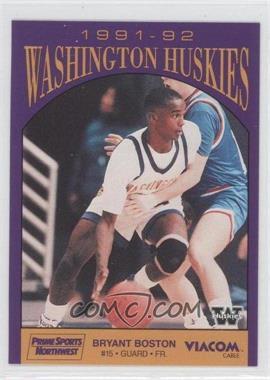 1991-92 Prime Sports Washington Huskies - [Base] #BRBO - Bryant Boston