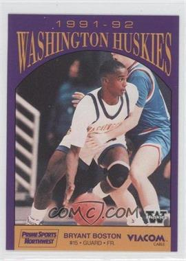 1991-92 Prime Sports Washington Huskies #BRBO - Bryant Boston