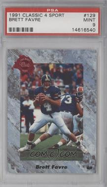 1991 Classic Draft Picks #129 - Brett Favre [PSA 9]