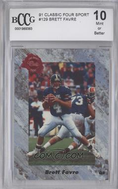 1991 Classic Draft Picks #129 - Brett Favre [ENCASED]