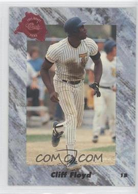 1991 Classic Draft Picks #61 - Cliff Floyd
