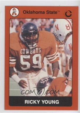 1991 Collegiate Collection - Oklahoma State University Cowboys #59 - Ricky Young
