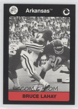 1991 Collegiate Collection Arkansas Razorbacks #40 - Bruce Lahay
