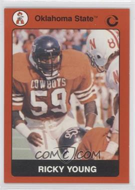 1991 Collegiate Collection Oklahoma State University Cowboys #59 - Ricky Young