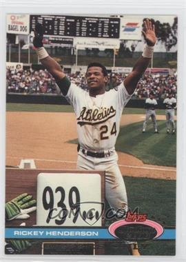 1991 Topps Stadium Club Members Only [???] #N/A - Rickey Henderson