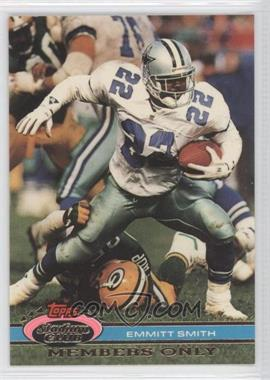1991 Topps Stadium Club Members Only #N/A - Emmitt Smith