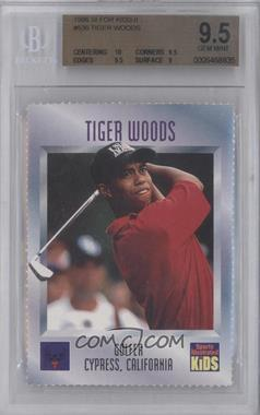 1992-00 Sports Illustrated for Kids #536 - Tiger Woods [BGS 9.5]
