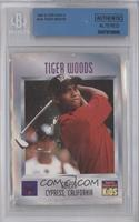 Tiger Woods [BGS AUTHENTIC]
