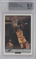 Shaquille O'Neal 1992 Classic Draft Picks National Convention [BGS 8.5]