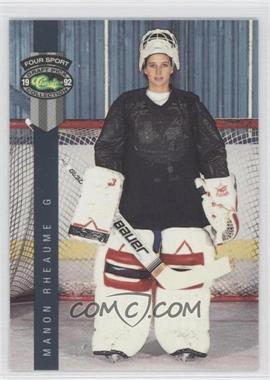 1992 Classic Four Sport Draft Pick Collection - [Base] #224 - Manon Rheaume