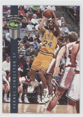 1992 Classic Four Sport Draft Pick Collection - [Base] #37 - Vernel Singleton