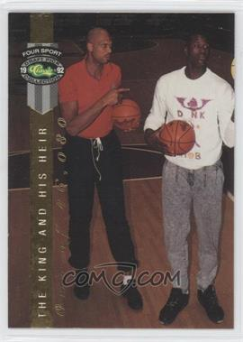 1992 Classic Four Sport Draft Pick Collection [???] #LP14 - Kareem Abdul-Jabbar, Shaquille O'Neal /46080
