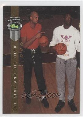 1992 Classic Four Sport Draft Pick Collection [???] #LP14 - Kareem Abdul-Jabbar, Shaquille O'Neal /46080