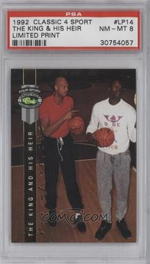 1992 Classic Four Sport Draft Pick Collection LPs #LP14 - Kareem Abdul-Jabbar, Shaquille O'Neal /46080 [PSA 8]