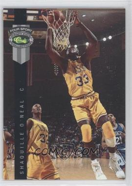 1992 Classic Four Sport Draft Pick Collection Promos Gray Stripe #PR1 - Shaquille O'Neal