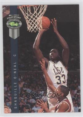 1992 Classic Four Sport Draft Pick Collection #1 - Shaquille O'Neal