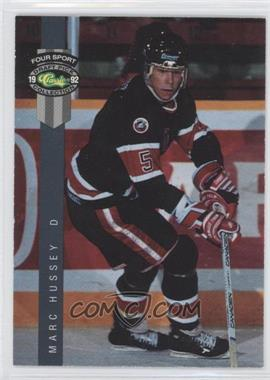 1992 Classic Four Sport Draft Pick Collection #167 - Marc Hussey