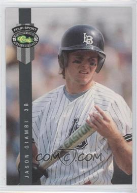 1992 Classic Four Sport Draft Pick Collection #267 - Jason Giambi