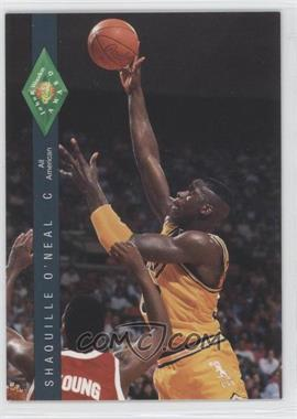 1992 Classic Four Sport Draft Pick Collection #318 - Shaquille O'Neal