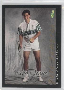 1992 Classic World Class Athletes Promos #3 - Pete Sampras