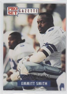 1992 Pro Set Gazette Promos #1 - Emmitt Smith