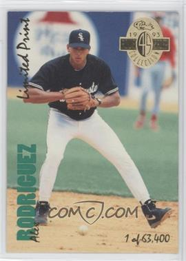 1993 Classic Four Sport Collection - [Base] - Limited Print #LP 18 - Alex Rodriguez /63400
