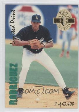 1993 Classic Four Sport Collection Limited Print #LP 18 - Alex Rodriguez /63400