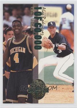 1993 Classic Four Sport Collection Power Pick Bonus 4-in-1 Special #WRBD - Chris Webber, Alex Rodriguez, Drew Bledsoe, Alexandre Daigle /60000