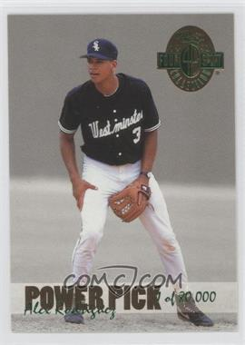 1993 Classic Four Sport Collection Power Pick Bonus #PP15 - Alex Rodriguez /80000