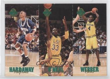 1993 Classic Four Sport Collection Triple Card #TC1 - Shaquille O'Neal, Chris Webber, Anfernee Hardaway