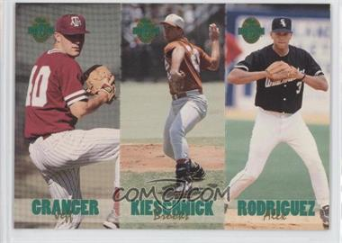 1993 Classic Four Sport Collection Triple Card #TC3 - Jeff Granger, Brooks Kieschnick, Alex Rodriguez /65600