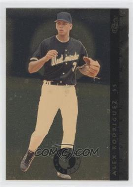 1993 Classic Images Sudden Impact #SI 4 - Alex Rodriguez