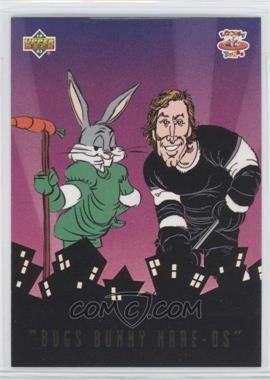 1993 Upper Deck Adventures in 'Toon World Bugs Bunny Hare-Os #BBH2 - Wayne Gretzky, Bugs Bunny