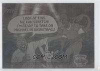 Reggie Jackson, Michael Jordan, Bugs Bunny