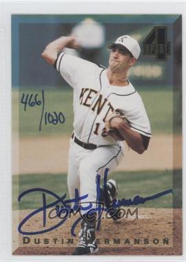 1994 Classic 4 Sport Autograph #DUHE - Dustin Hermanson /1020