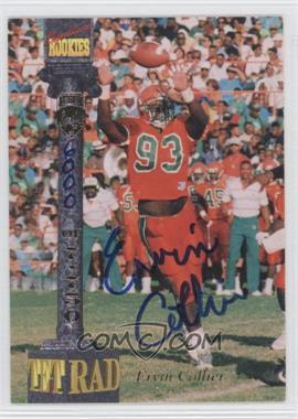 1994 Signature Rookies Tetrad - Signatures #21 - Ervin Collier /7750
