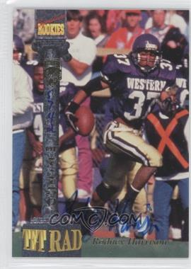1994 Signature Rookies Tetrad - Signatures #27 - Rodney Harrison /7750