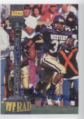 1994 Signature Rookies Tetrad [???] #27 - [Missing] /7750
