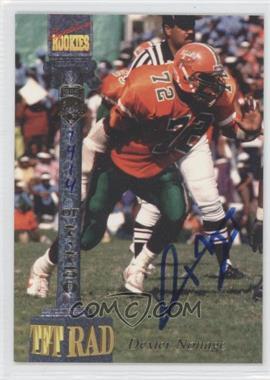 1994 Signature Rookies Tetrad Signatures #20 - Dexter Nottage /7750