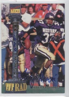 1994 Signature Rookies Tetrad Signatures #27 - Rodney Harrison /7750