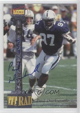1994 Signature Rookies Tetrad Signatures #3 - [Missing] /7750