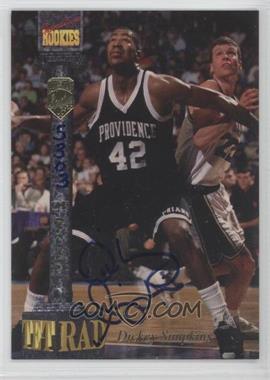 1994 Signature Rookies Tetrad Signatures #73 - Dickey Simpkins /7750