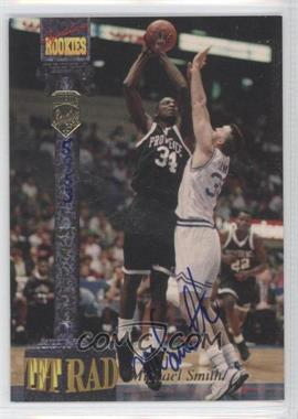 1994 Signature Rookies Tetrad Signatures #74 - Michael Smith /7750