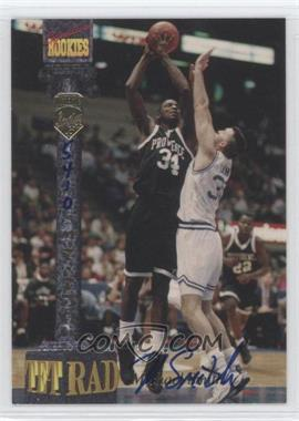 1994 Signature Rookies Tetrad Signatures #74 - Michael Smith /7750
