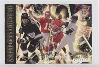 Wayne Gretzky, Michael Jordan, Joe Montana, Reggie Jackson /50000