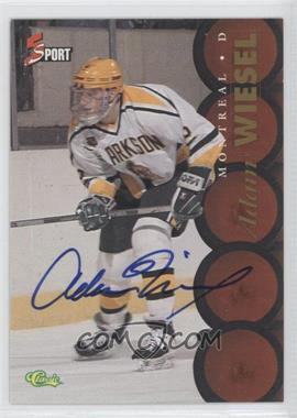 1995 Classic 5 Sport - [Base] - Non-Numbered Autographs [Autographed] #ADWI - Adam Wiesel